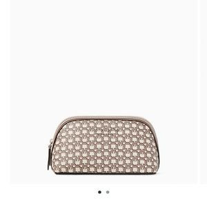 spade pink small cosmetic case